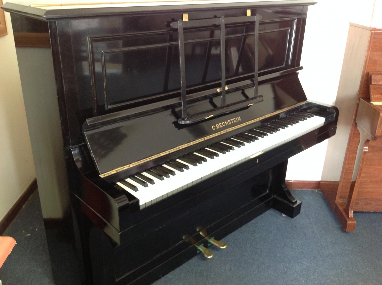bechstein model 10 upright piano for sale in restored older pianos for sale. Black Bedroom Furniture Sets. Home Design Ideas