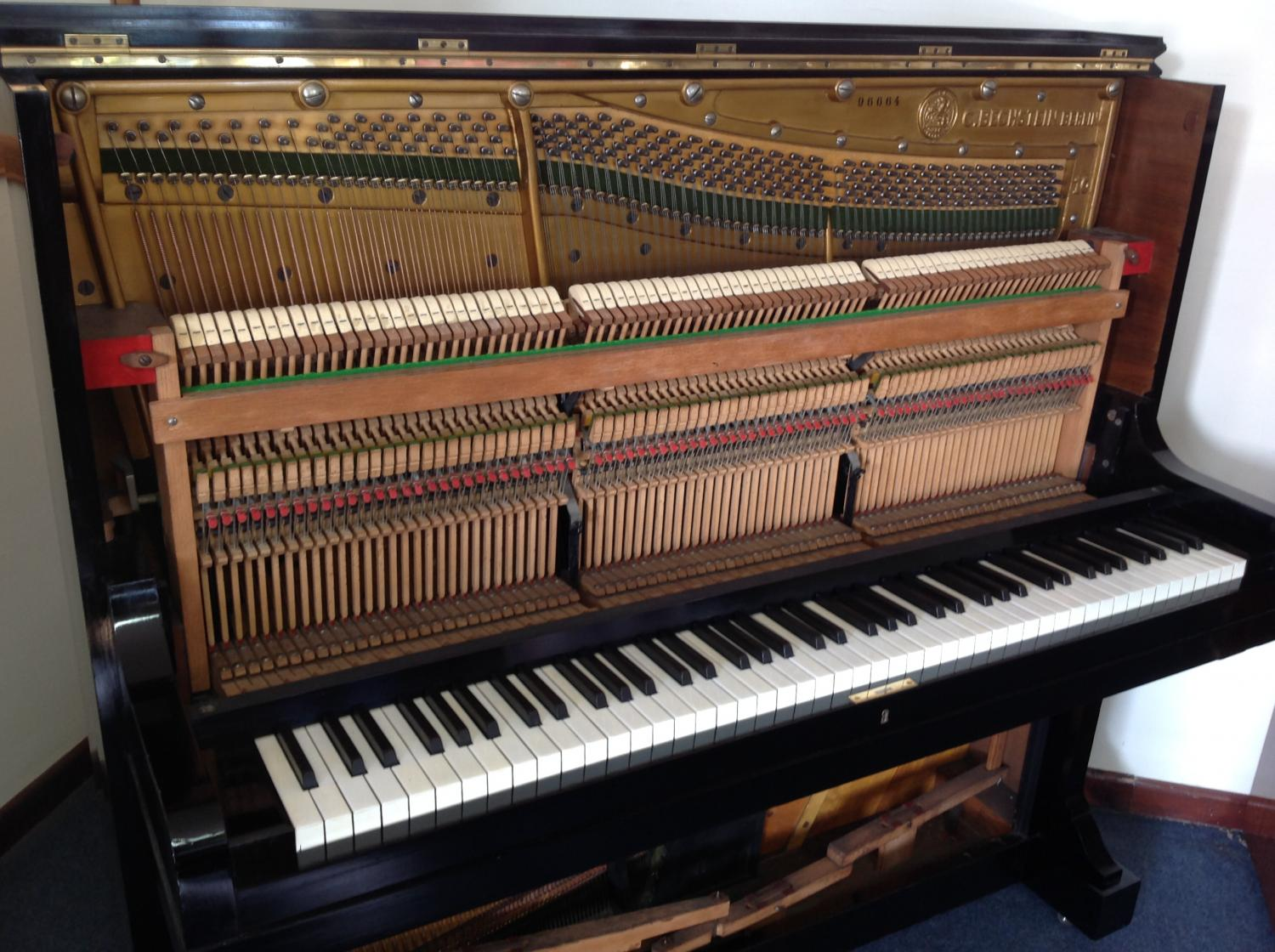 Bechstein Model 10 Upright Piano For Sale In Restored