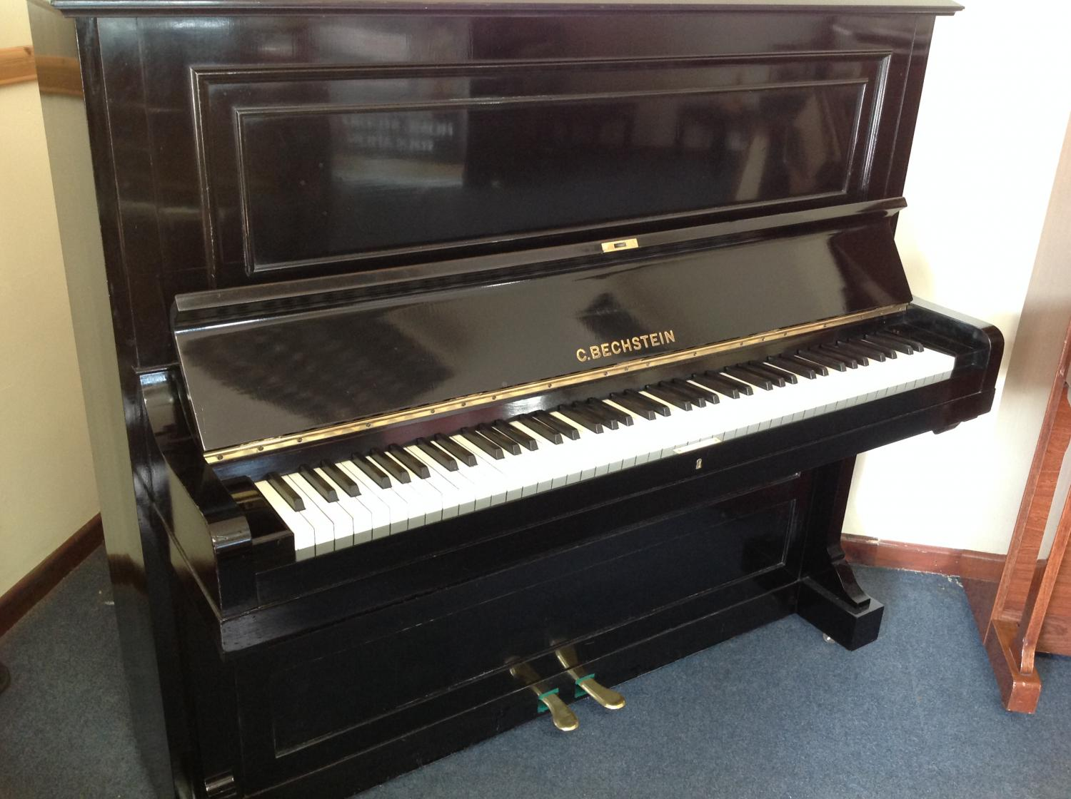 Bechstein model 10 upright piano for sale in restored for Piano upright dimensions