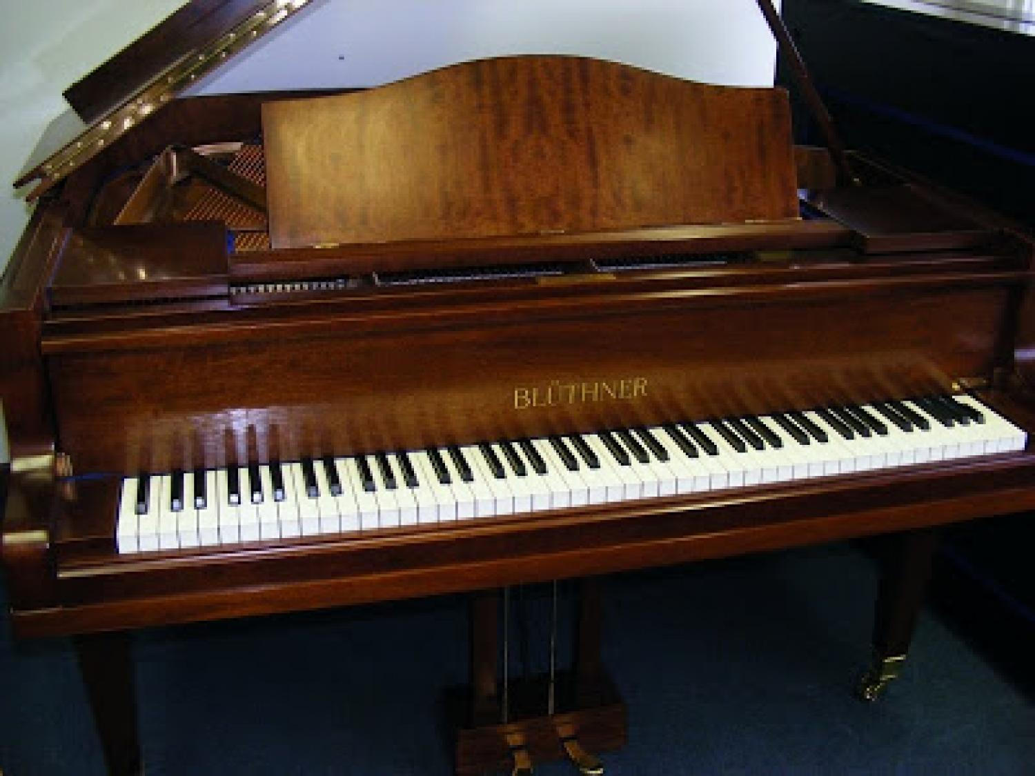 Baby grand piano in grand pianos for sale for Size of baby grand piano