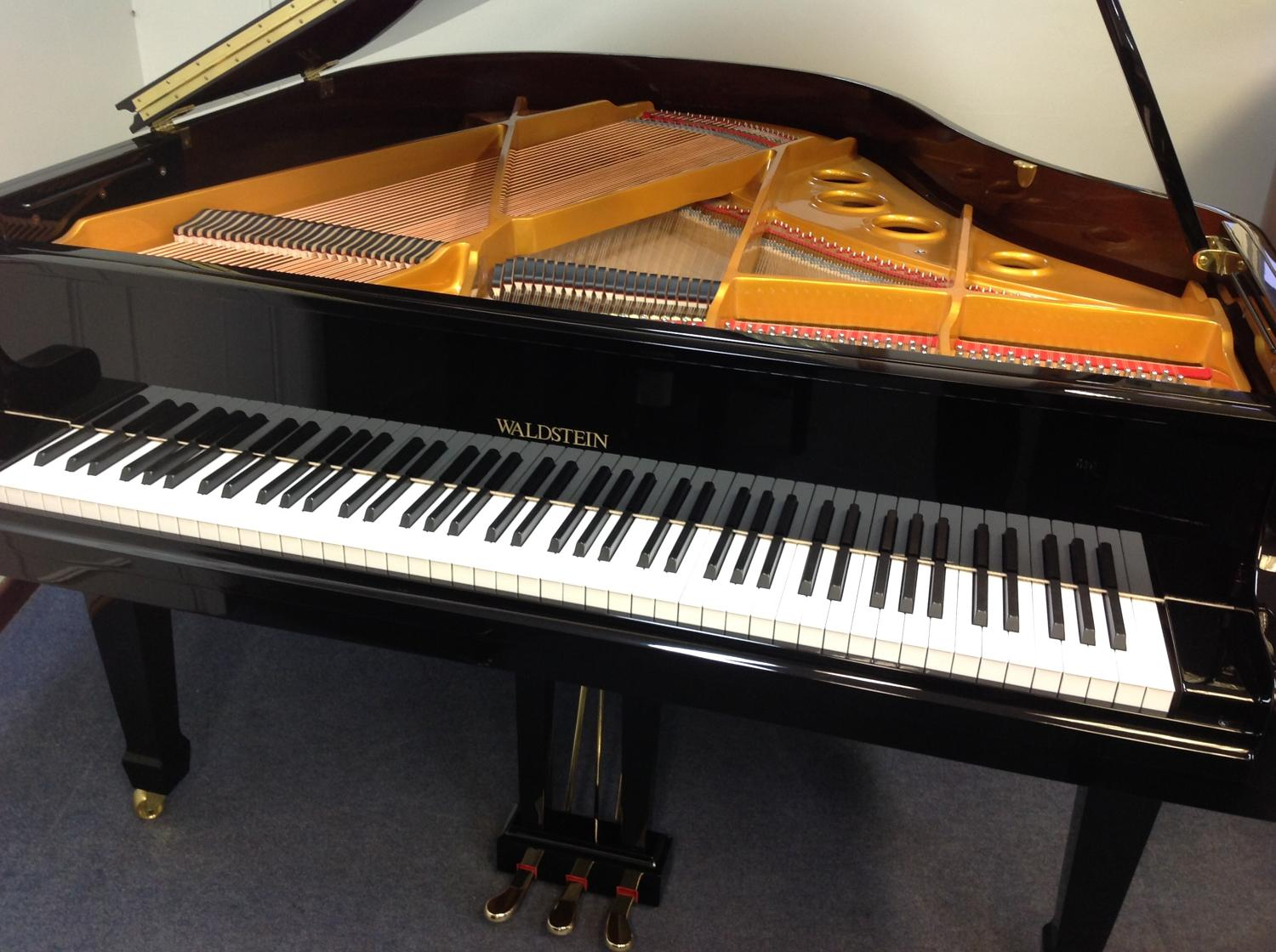 Waldstein baby grand piano in grand pianos for sale for Size of baby grand piano