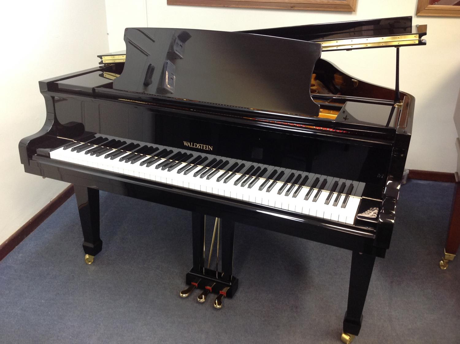 Waldstein baby grand piano in grand pianos for sale for Size baby grand piano