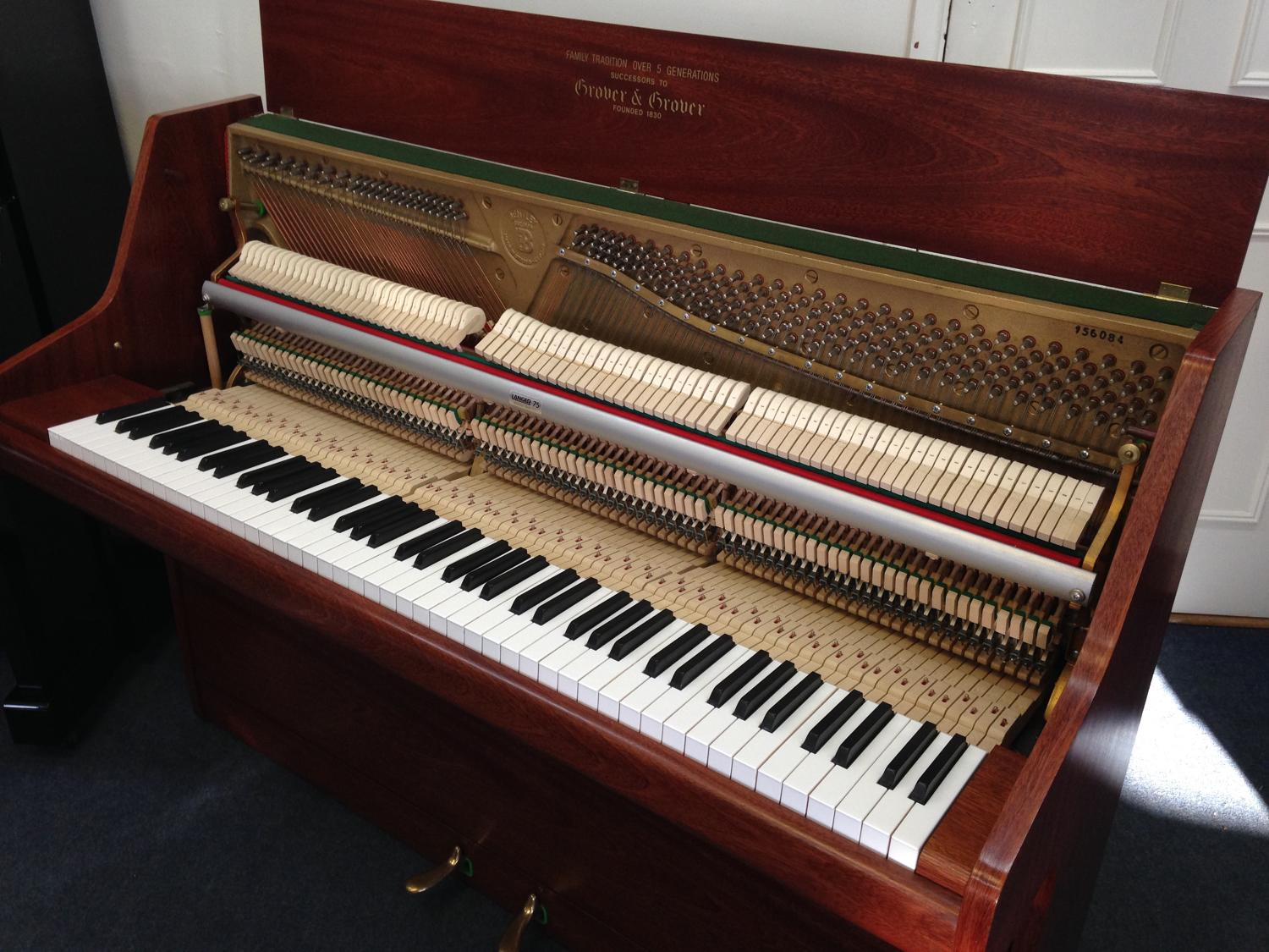 Bentley upright piano for sale in modern pianos for sale for Small upright piano dimensions