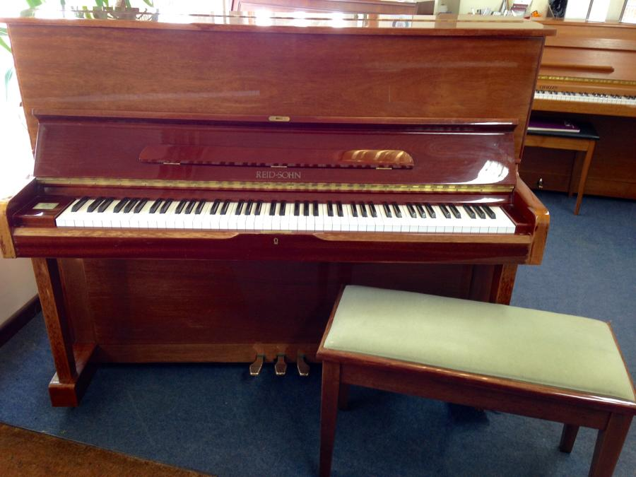 Reid-Sohn modern upright piano for sale