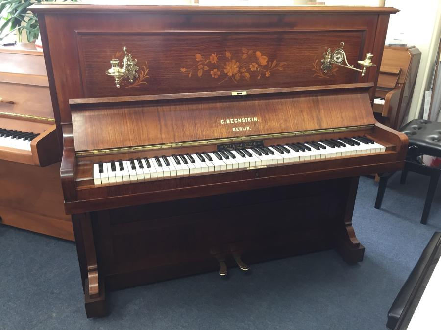 Antique Bechstein upright piano for sale