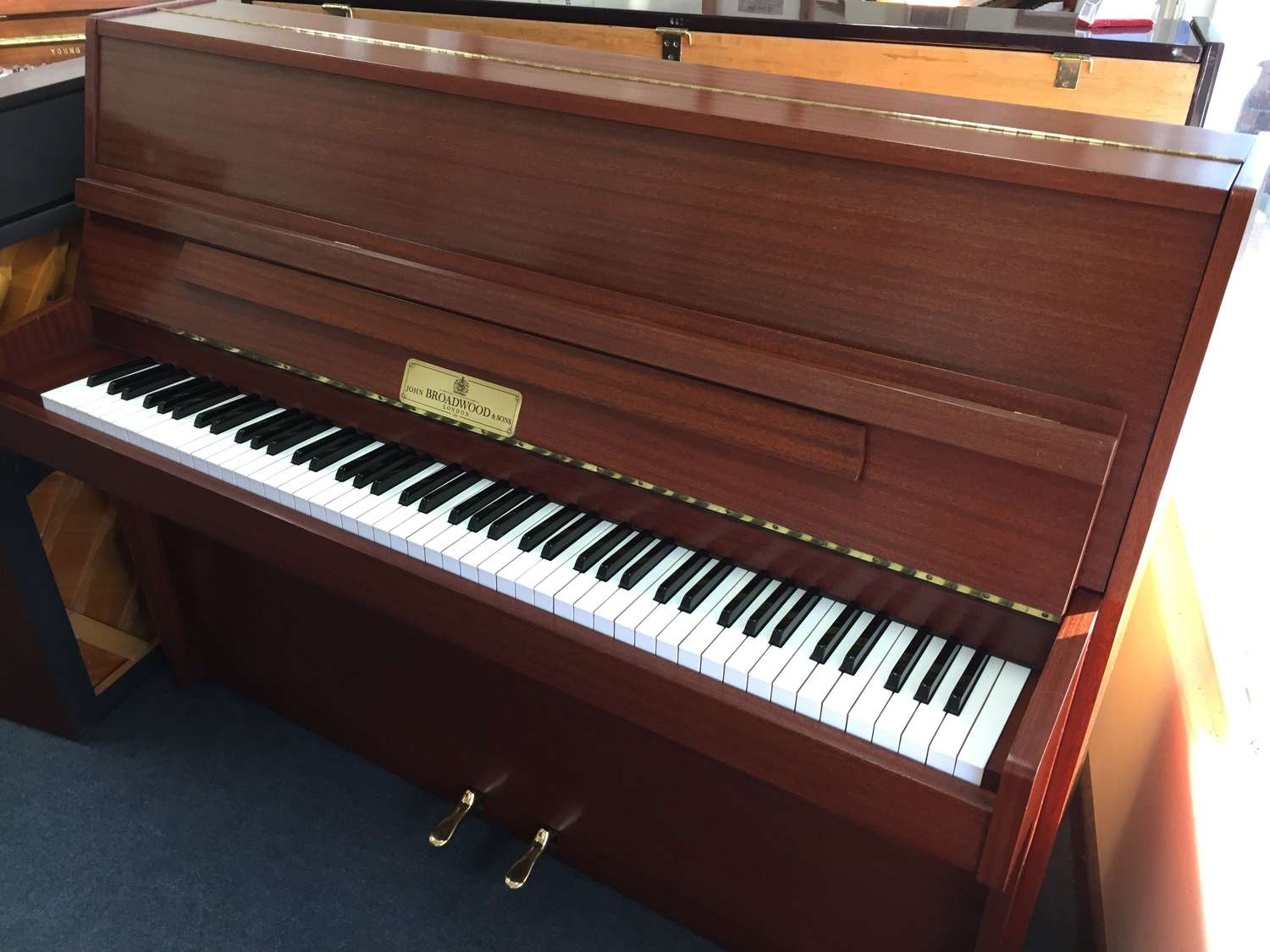 John Broadwood upright piano for sale