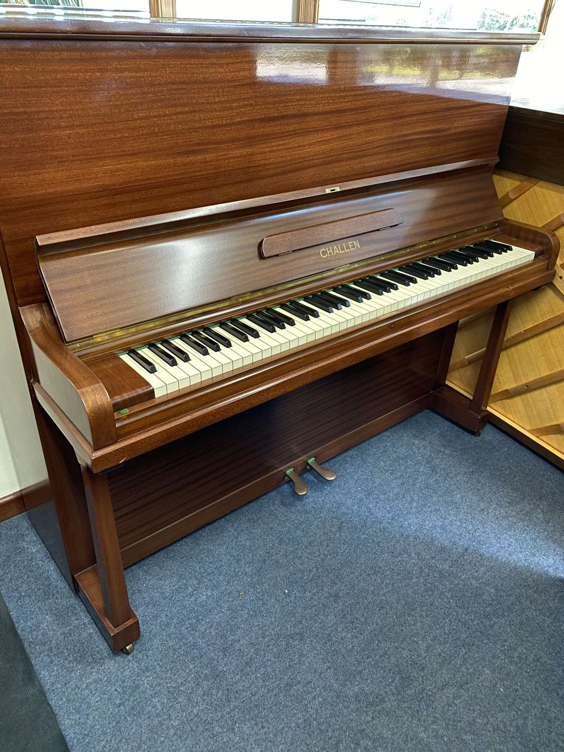 Challen upright piano for sale
