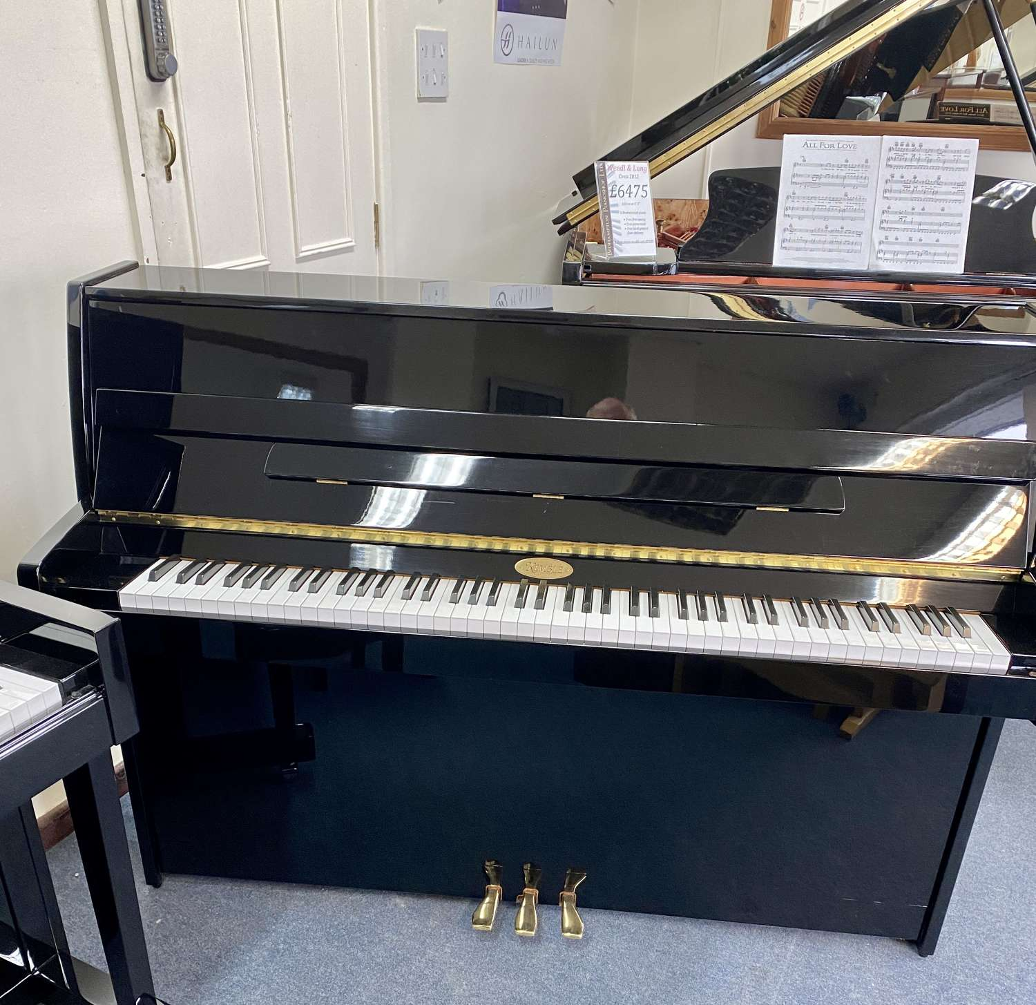 Modern Kemble piano for sale